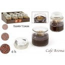 Candle coffee-chocolat aroma