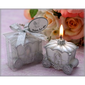 Carriage Candle Favour