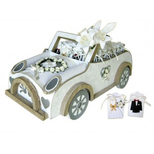 Car wedding display