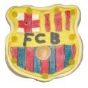 Cake candies large shield FC Barcelona 600 gr
