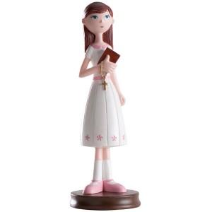 "Communion Girl Cake figure ""delgadita"""