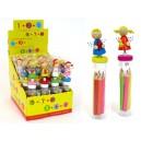 Set  Pencils + Sharpener Communion in Bag