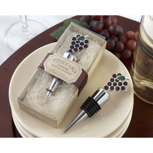 Grapes wine stopper