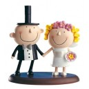 Bride and Groom Figure Cake Diver