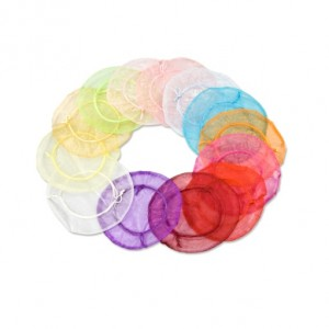 Round Organza Bag for presenting details.