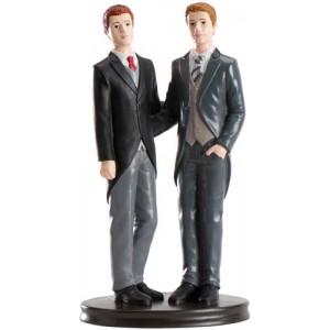 "Wedding Cake figure "" Boys"""