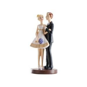 "Wedding Cake Figure Bride and Groom ""Style"""
