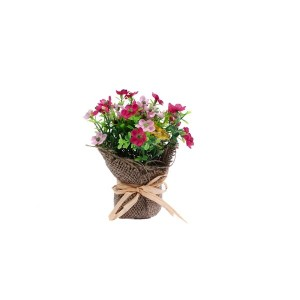 """PLANT """"DECOHOME"""" RAFFIA PRESENTED WITH BOW"""