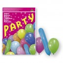 80 ASSORTED  BALLOONS PARTY MIX